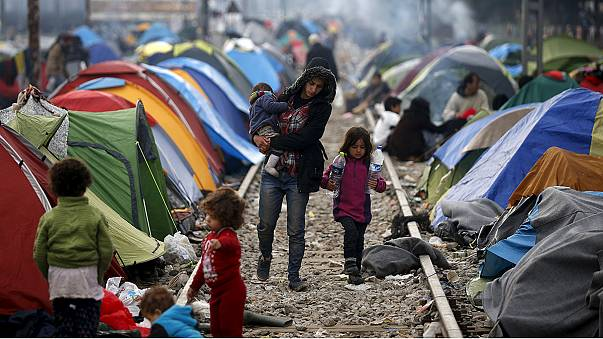 """""""Балканский маршрут"""" мигрантам закрыт. Как выжить в Идомени?"""