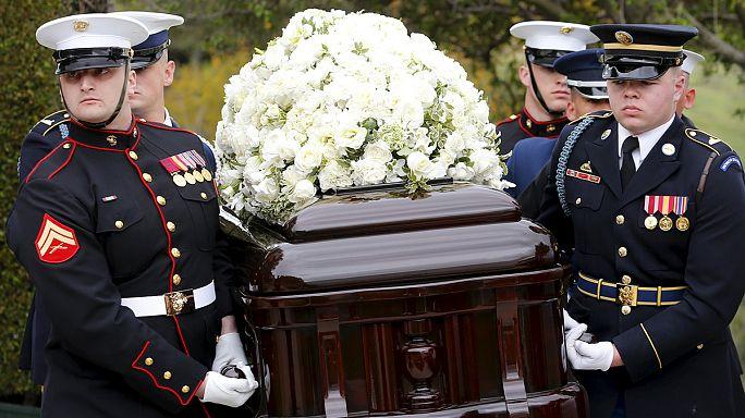 Nancy Reagan için cenaze töreni