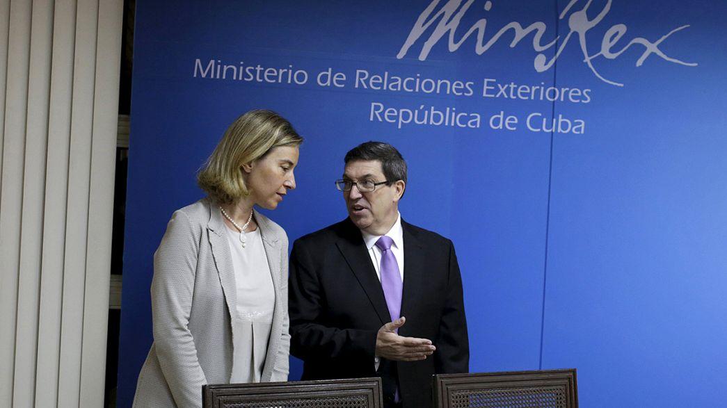 Kuba und EU wollen engeren Dialog