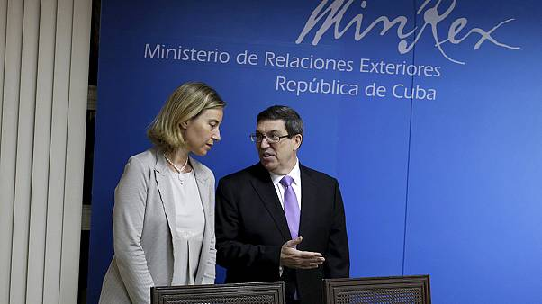EU and Cuba normalise relations ahead of historic Obama visit