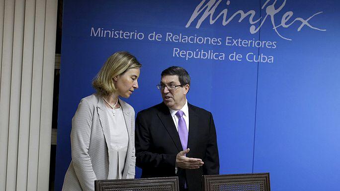 Normalizálódik a viszony Kuba és az EU között