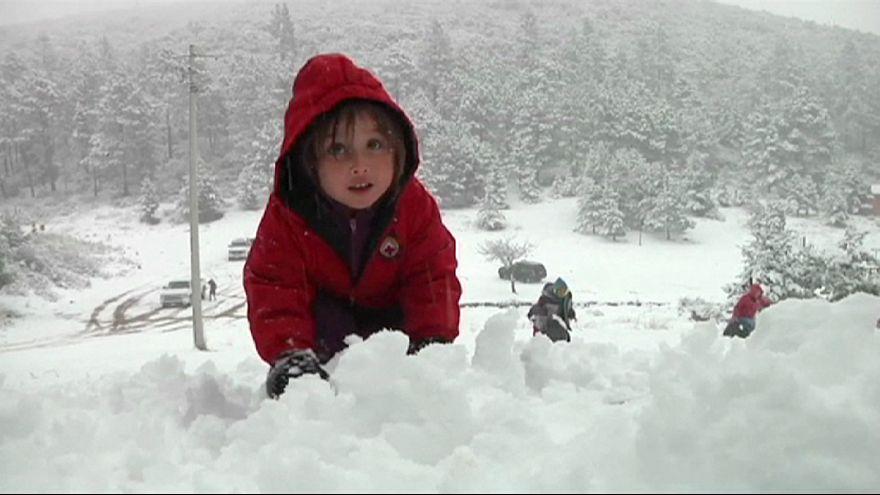 Χιόνα στο Μεξικό