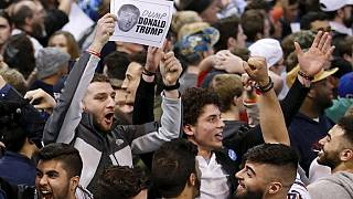 Scuffles lead to cancellation of Trump's Chicago rally