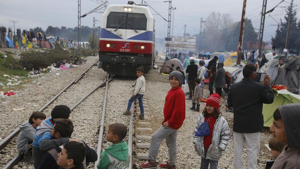 Yunanistan İdomeni kampını dağıtacak