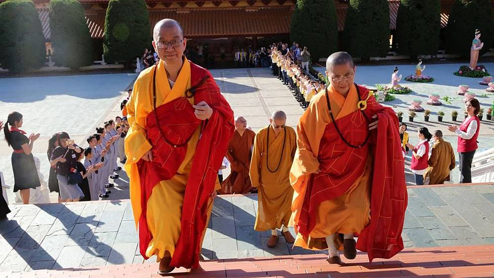Buddhist leader accused of coercing nuns into sex quits job