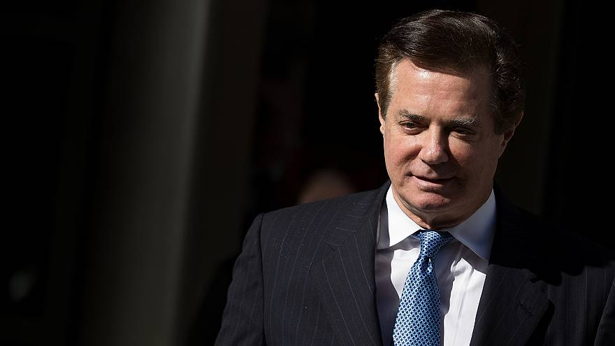 Image: Paul Manafort exits the E. Barrett Prettyman Federal Courthouse in W
