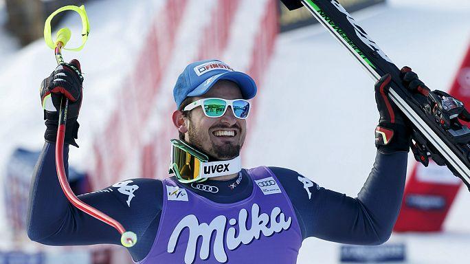 VK: Zsinórban a másodszor győzött lesiklásban Dominik Paris!