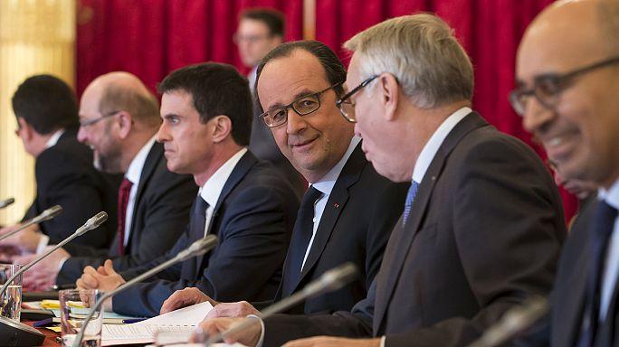 زعماء اشتراكيون ديمقراطيون يناقشون اصلاح الاتحاد الأوروبي في باريس