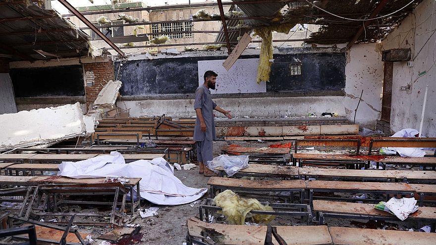 Suicide bomb blast in Kabul kils at least 25 people.