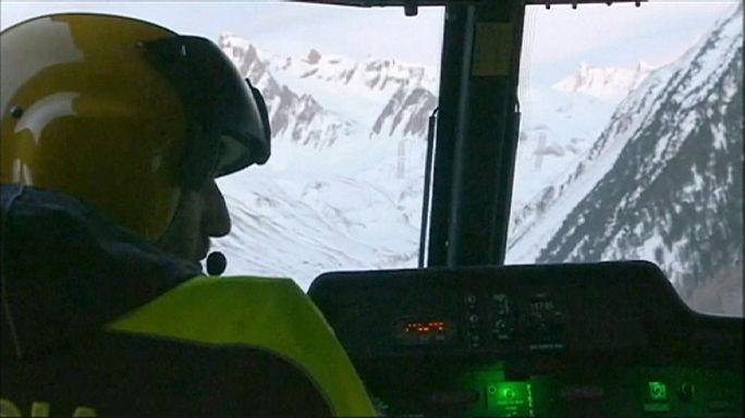 مصرع ستة أشخاص في إنهيار ثلجي بجبال الألب الإيطالية الشهيرة
