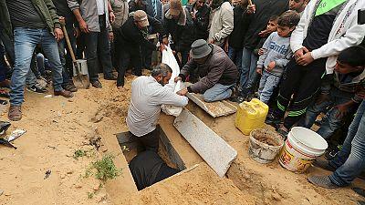 Two Palestinian children in Gaza 'killed by Israeli airstrike'