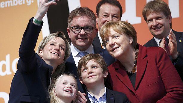 Merkel defends Germany's refugee policy on eve of 'Super Sunday' vote