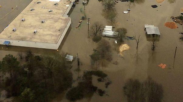 سیلاب شدید در لوئیزیانا