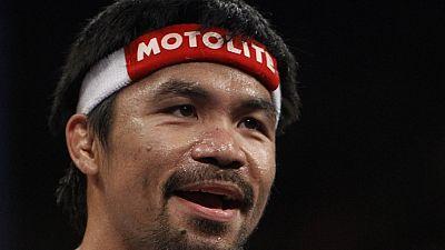 Boxe : Manny Pacquiao est arrivé à Los Angeles pour peaufiner sa préparation