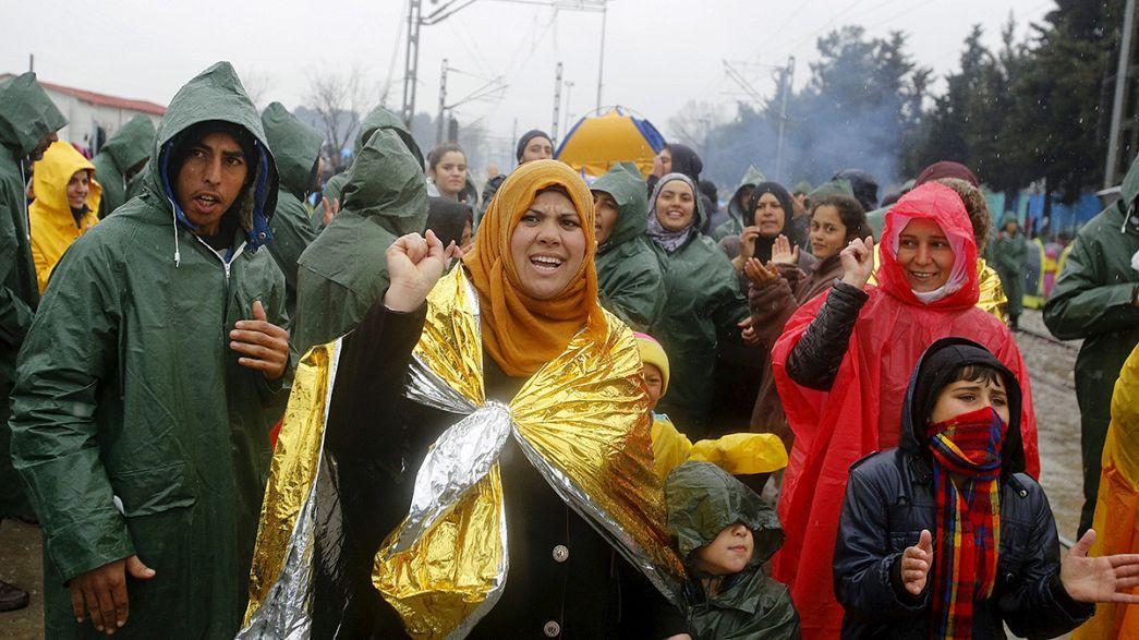 Grécia: refugiados manifestam-se em Idomeni