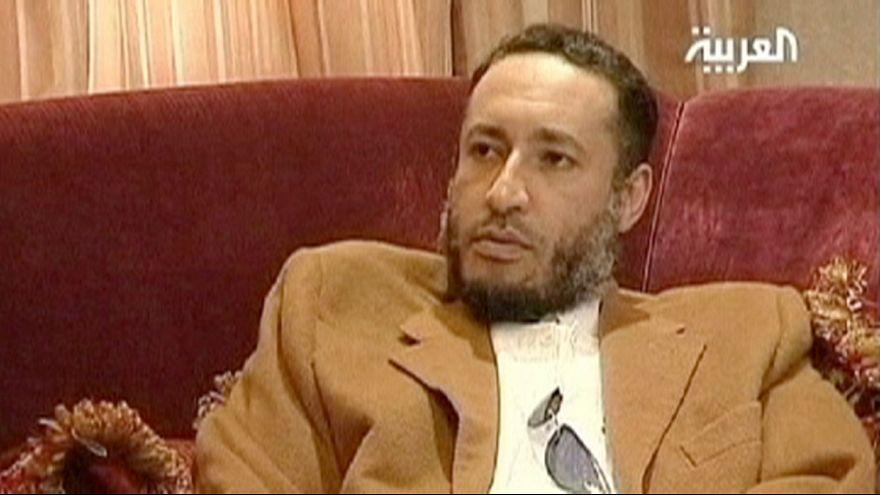 Elhalasztották a néhai líbiai diktátor fiának perét