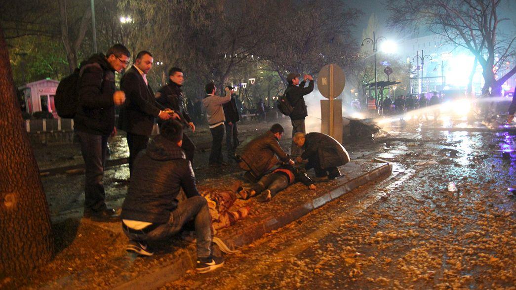 Autobomba colpisce il centro di Ankara Almeno 34 i morti, 125 i feriti.