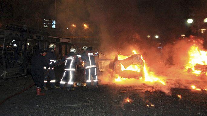 انفجار قوي يهز قلب العاصمة التركية أنقرة