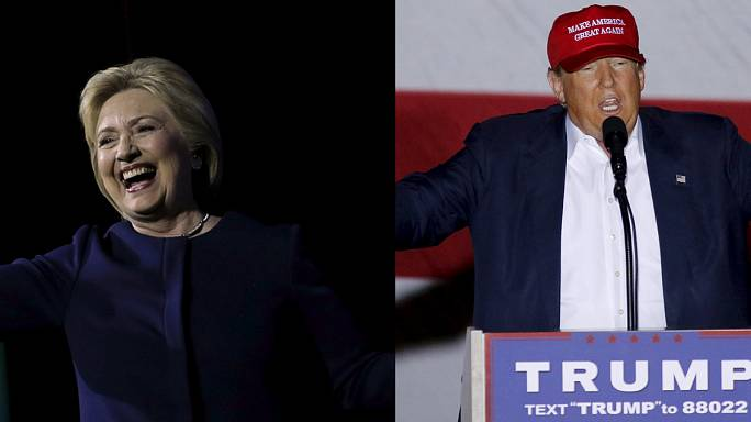 Trump and Clinton see each other as main obstacle to the White House