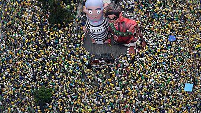 Anti-corruption protests in Brazil draw millions