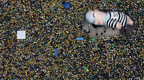 Millions in Brazil demand President Rouseff's impeachment