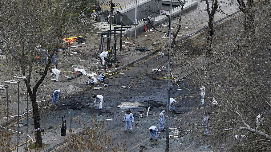 Evidence suggests female PKK militant bombed Ankara - official
