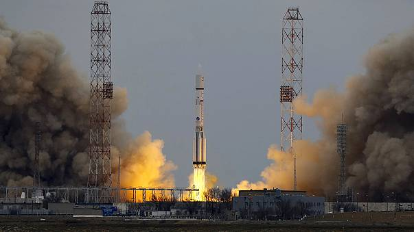 Russian-ESA Exomars blasts off to find life on the Red Planet