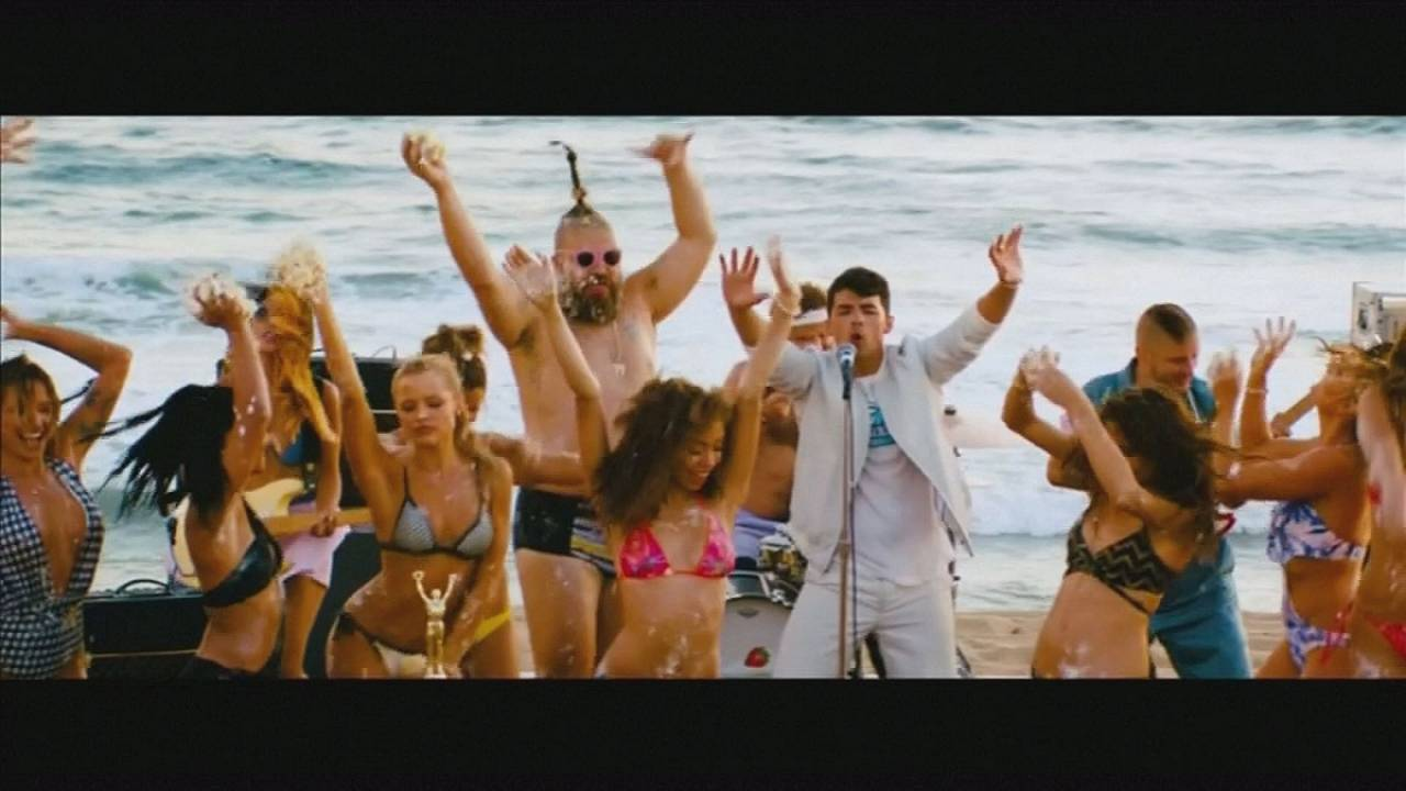 DNCE gets funky with a bit of Cake By The Ocean