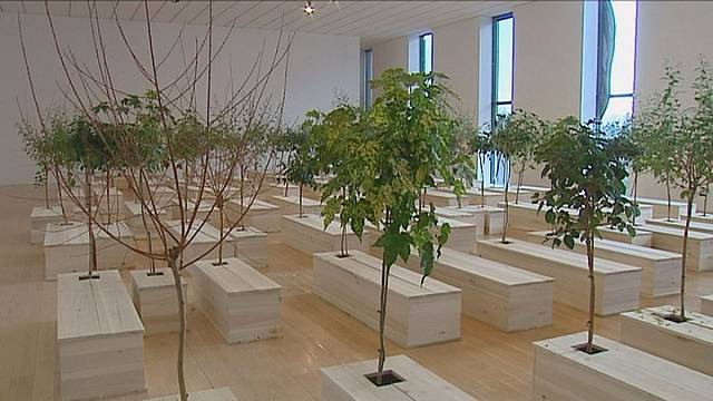 Yoko Ono goes towards the light at Lyon's Museum of Contemporary Art
