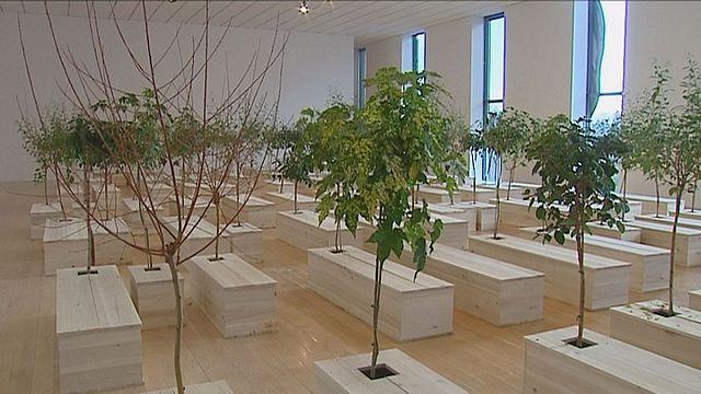 Yoko Ono Lyon Modern Sanat Müzesi'nin misafiri
