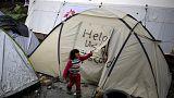 Греция: беженцы отказываются уезжать от македонской границы