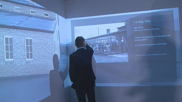 Virtual reality app recreates horror of Germany concentration camp
