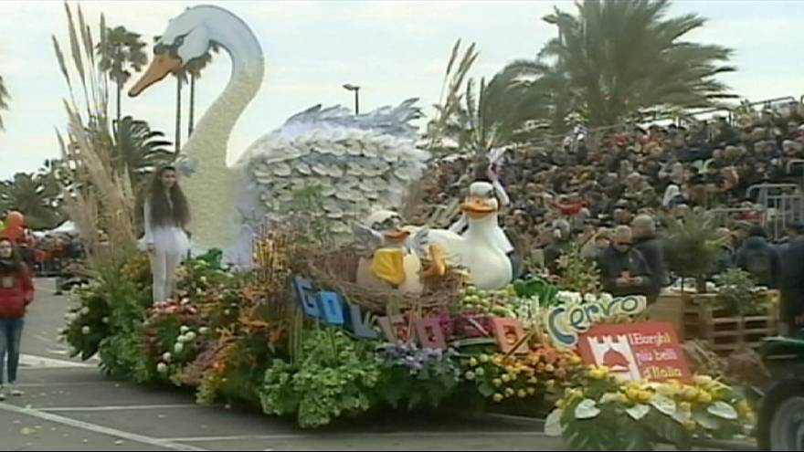 Flower Parade in italy