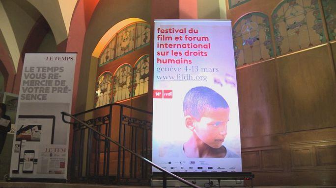 İsviçre'nin Cenevre kenti İnsan Hakları Forumu ve Film Festivali'ne ev sahipliği yaptı
