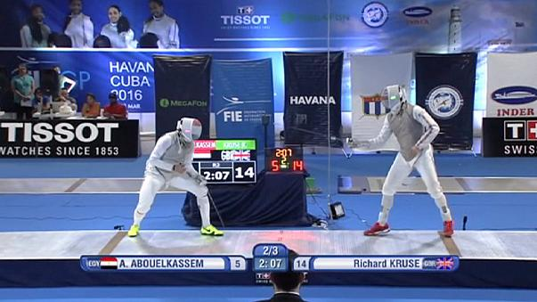 Kruse cruises to gold in Havana Fencing Grand Prix