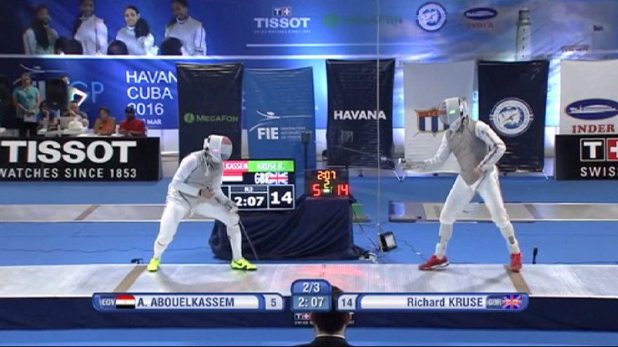 درخشش شمشیرباز بریتانیایی در مسابقات جایزه بزرگ کوبا
