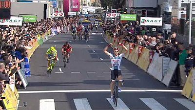 Parigi-Nizza al cardiopalma: Geraint Thomas di un soffio su Contador