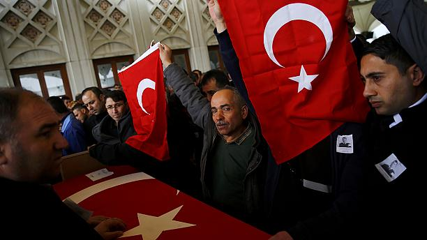 Turkey in shock after third fatal bomb attack in five months