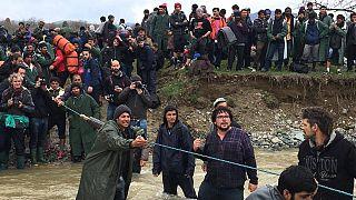 Η «έξοδος» των προσφύγων της Ειδομένης