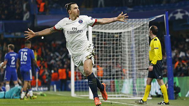 Los grandes de Europa muestran su poderío goleador