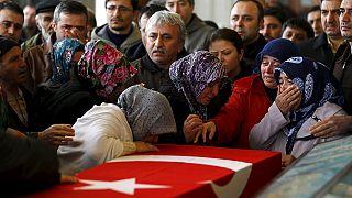 В Анкаре прошли похороны погибших в теракте