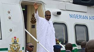 Buhari holds talks with Equatorial Guinea president in Malabo