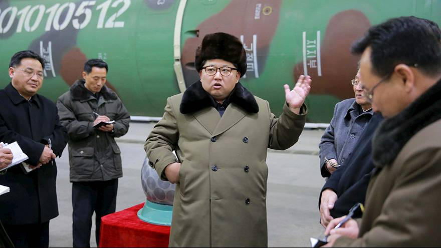 North Korea 'to test nuclear warhead soon', says Kim Jong Un