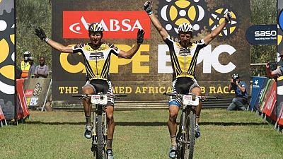 Cape Epic 2016 : Karl Platt et Urs Huber remportent la première étape