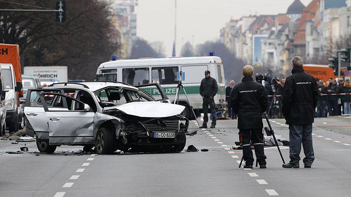 Полиция: взрыв автомобиля в Берлине не связан с терроризмом