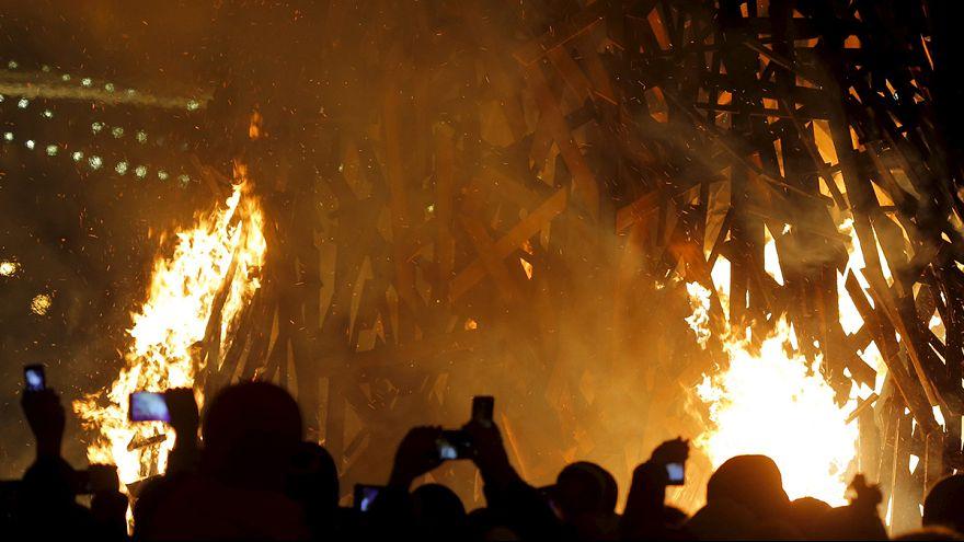 Rusya'da bahar festivali