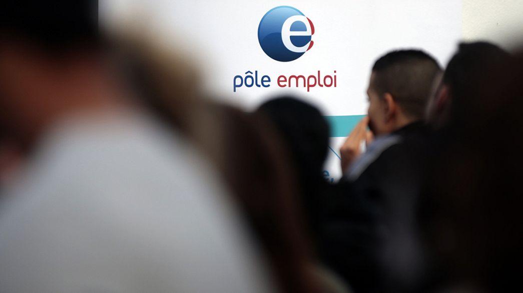 França: Crescimento económico não é suficiente para baixar desemprego