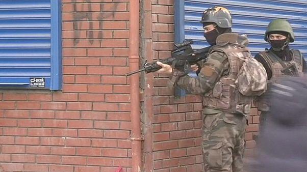 Tombol az erőszak Délkelet-Törökországban