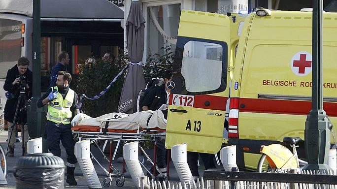 إطلاق النار على عناصر من الشرطة البلجيكية اثناء مداهمة أمنية لأحد المنازل في بروكسل.