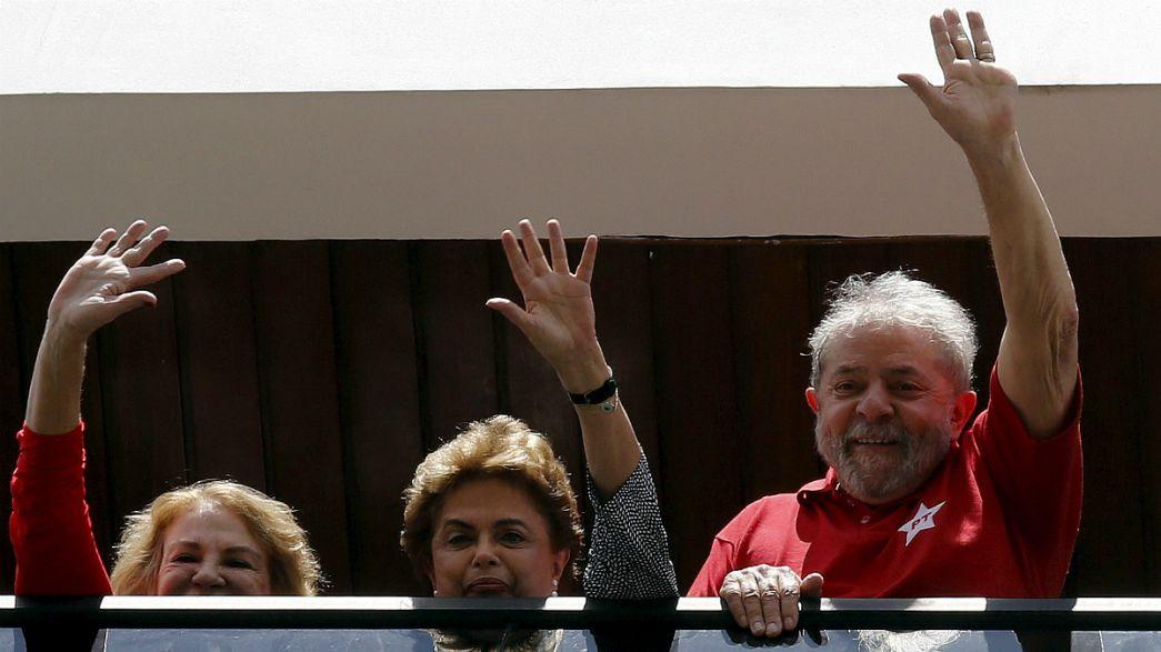 Brasil: Lula aceita convite de Dilma para o governo e é oficializado